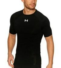 Baselayer lengan pendek hitam adidas - jersey - manset futsal