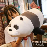 Panpan we bare bears boneka panda doll teddy bear kado hadiah anak