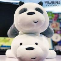 Ice bear we bare bears boneka doll anak beruang panda cartoon miniso
