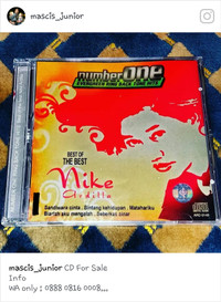 harga Cd nike ardilla - best of the best number one rbt hits Tokopedia.com