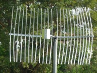 antena grid N female kabel 1m frek 2400 mhz for wifi outdoor bullet