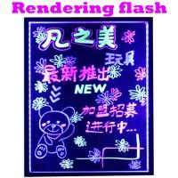LED Writing Board - Papan tulis LED - 40 x 60cm - Papan Iklan Bagus