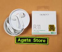 Headset Oppo R11 Original 100% Earphone Handsfree Oppo R 11 Ori new