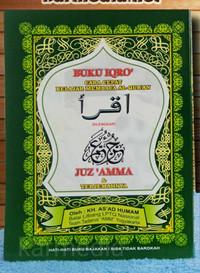[HVS] Buku Iqro + Juz Amma Besar dilengkapi Terjemahnya - Kertas HVS