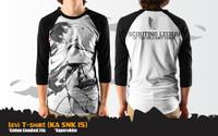 Kaos Anime Attack On Titan Spesial Levi Ackerman T-Shirt (KA SNK 15)
