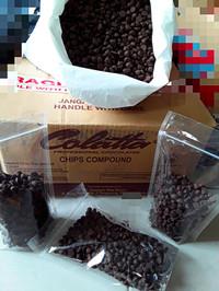 Choco chips kerucut colatta, cokelat repack 220gram