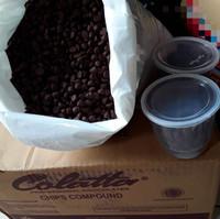 Choco chips colatta, cokelat kerucut repack 100gram