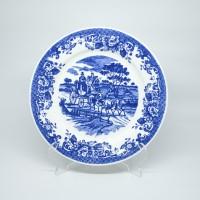 Piring Dekorasi Johnson Kuda Biru Diameter 27 cm