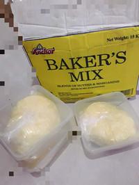 Butter mix margarin merk Anchor baker's mix repack 948gram