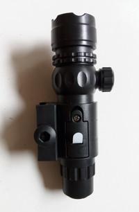 laser sight tactical nyala merah bisa zeroing untuk airsoft atau nerf