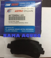 Brake Pad / Kampas Rem Dpn Rush / Terios All TDW
