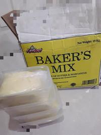 Baker's mix Anchor, mentega mix, butter blend repack 475gram