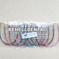 kawat niti warna fashion / kawat behel warna