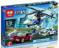 Lepin 02018 - Bricks Lego - City - Cities - Police High Speed Chase