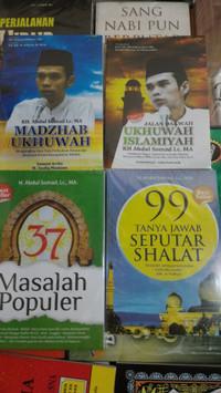 buku Paket Ustadz Abdul Somad 4 buku