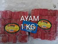 kornet ayam 1 kg king 40pc. sumber frozen makmur