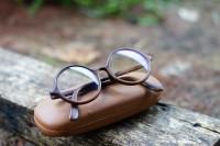 kacamata kayu original sono keling model bulat boboho