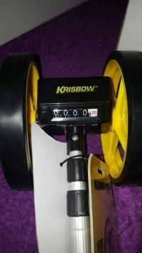 krisbow roda pengukur / meteran berjalan dorong