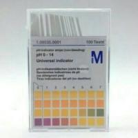 PH Paper Indicator Strip / Kertas PH Indikator Universal Merck 100s