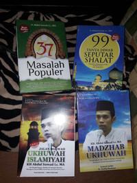 Paket 4 buku KH Abdul Somad Lc MA