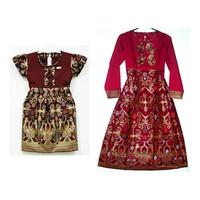 Baju batik anak dress gamis kemeja SRF