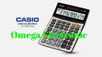 Casio Calculator Check & Correct DJ-240D - Kalkulator Meja Desktop