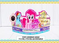 Topi Ulang Tahun Anak / Topi Pesta Ultah Little Pony isi 10 PCS