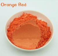 Natural Mica Powder 10g/Pewarna Mika Bubuk/Orange Red
