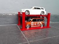 Diecast / Miniatur Four Postlif Garage Skala 24 - Jada