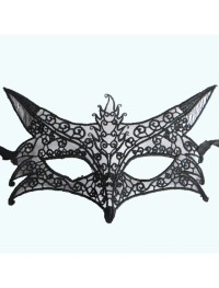 Topeng Halowen Pesta Party Halloween Mask Lace Fox cosplay - 3339