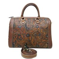harga [l] tas jinjing wanita kulit sapi asli lukis batik etnik mewah murah Tokopedia.com