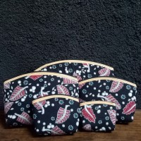 Dompet Batik Beranak isi 5pc / Souvenir Wedding