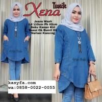 Model baju jeans atasan wanita XENA