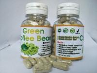 Kapsul Kopi Hijau Pelangsing Alami kapsul green coffee bean