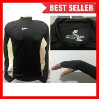 Baselayer/Manset Thumbhole Longsleeve Nike/Adidas Hitam
