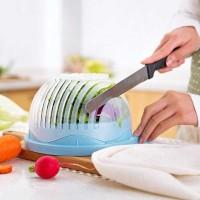 Alat Pemotong Buah Sayur Salad Fresh Cutter Bowl Mangkok Peniris
