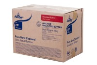 anchor butter unsalted 25kg