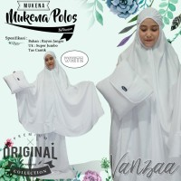 Mukena Polos |Mukenah Polosan Bali Adem SUPER JUMBO putih