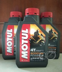 MOTUL SCOOTER POWER - OLI MOTOR MATIC - 1L - 5W40