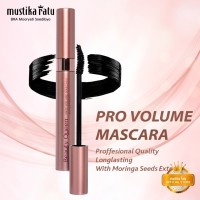 Mustika Ratu Beauty Queen Pro Volume Mascara Hitam Waterproof