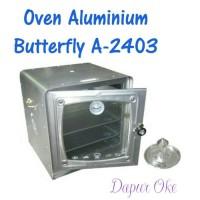 Oven Aluminium Butterfly A-2403 / Oven Kompor