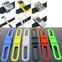 NEW Product Silicone Strap Bike Bracket Mount Holder Flashlight Senter