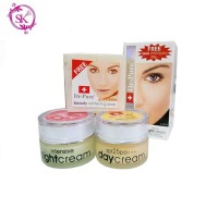 PAKET SET DR PURE Whitening Cream BPOM Ori ( Day + Night + Free SOAP )