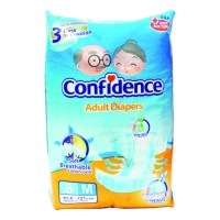 CONFIDENCE ADULT DIAPERS M