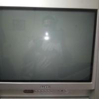 TV TABUNG FLXET SANYO 21 INCH MESIN MASI ORIGINAL SANYO STOK LAMA