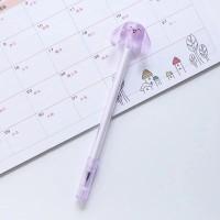 Pulpen pen gel karakter unik lucu 0.4 mm super lancar