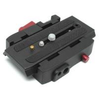 Adapter Tripod Quick Release Plate Hitam
