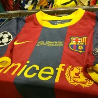jersey retro barcelona final wembley 2011