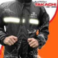 Jas Hujan Berkualitas merk TAKACHI Japan Black size XXL dan XXXL