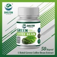 1 Botol GREEN COFFEE BEAN EXTRACT/ Kopi Hijau Diet Pelangsing Premium